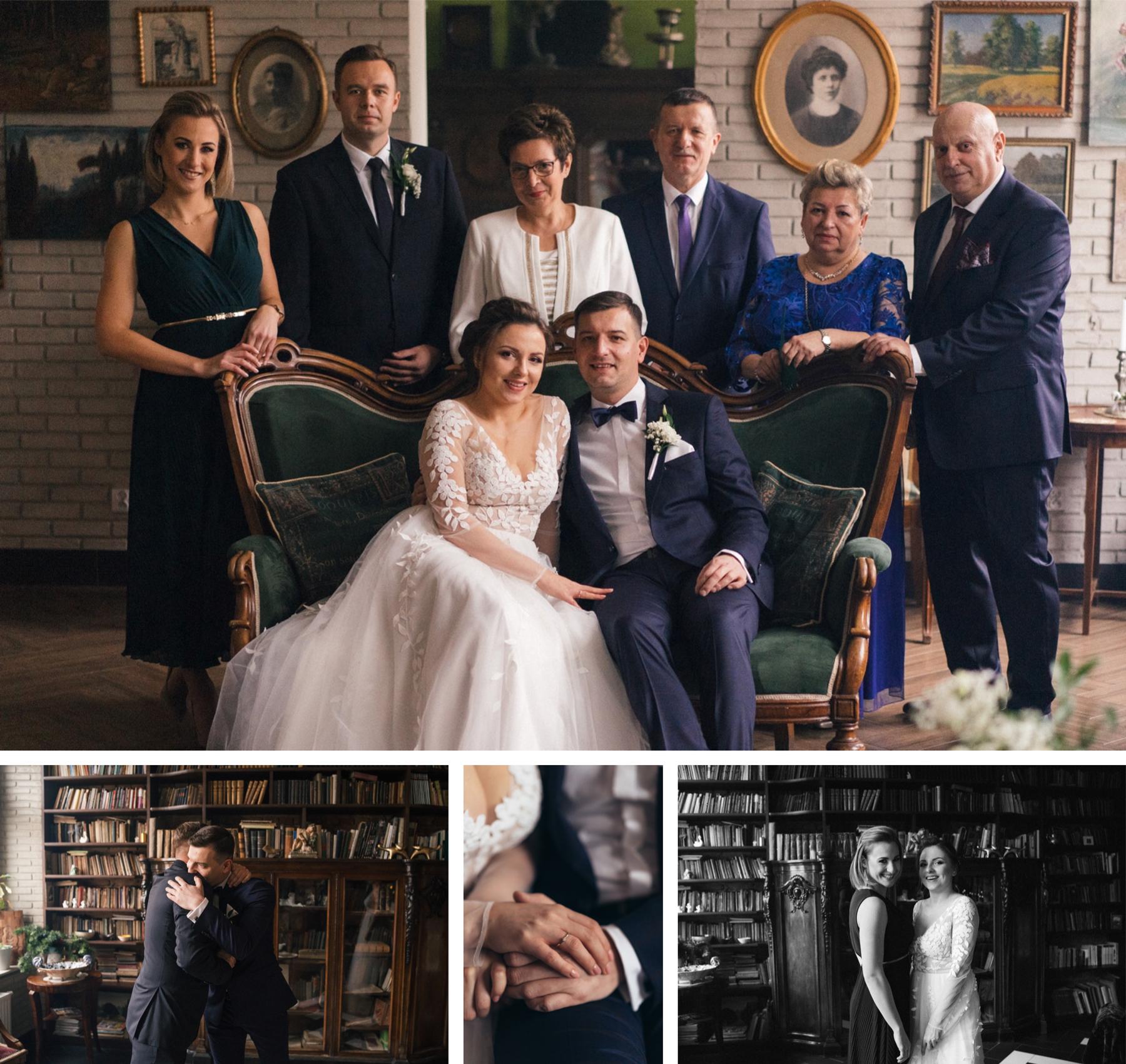 zdjęcia rodzinne pałac malina kutno łódź fotograf ślubny błogosławieństwo